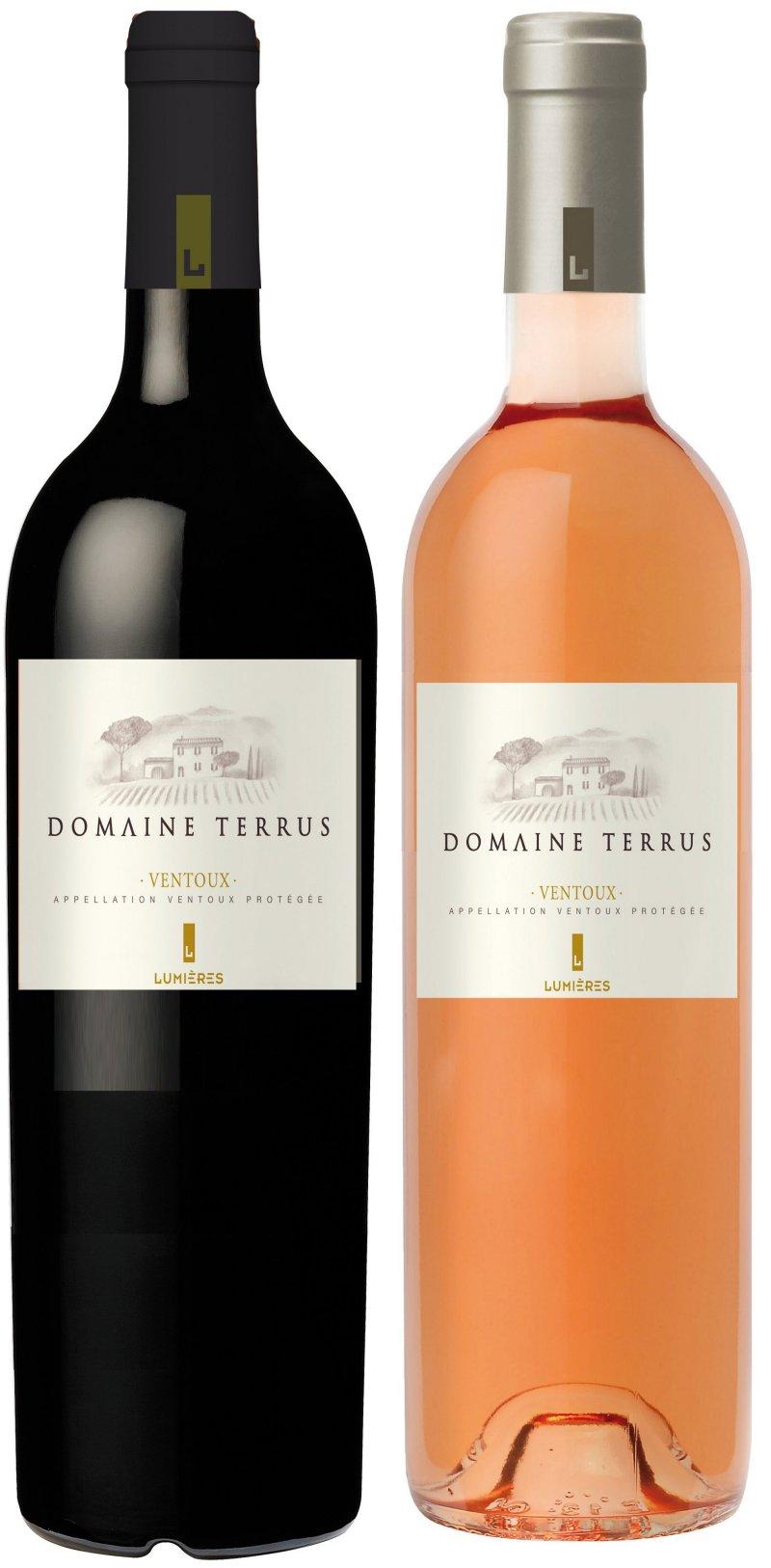Les bouteilles d 39 aoc cotes du ventoux et aoc cotes du for Chambre red wine